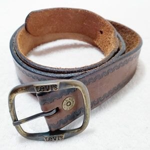 Levi Strauss & Co Genuine Harness Leather Belt